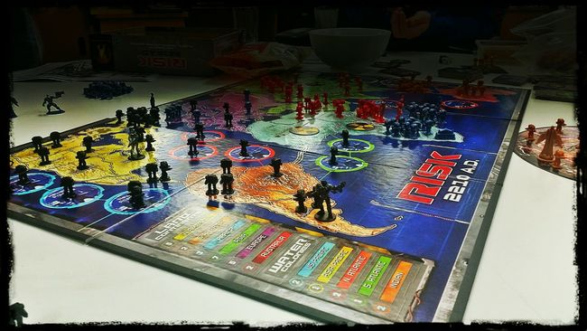 Boardgames Playing Risk Worlddomination Getting Competitive 👍😆👍