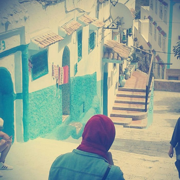 Chefchaouen City Typical Day 🎈👻 Favourite City ❤️😍