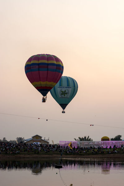 Adventure Airship Balloon Basket Festival Fly Freedom Leisure Activity Outdoors Sky Sport Transportation
