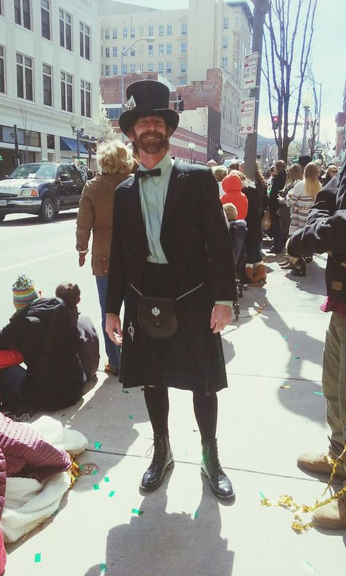 Saint Patrick's Day One Man Only One Person Adult People Outdoors Day