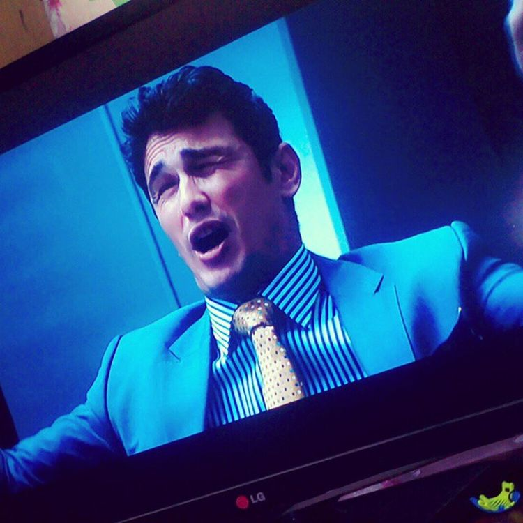 Watching THEINTERVIEW 😁😂😝 daaaamn!!!! Haters gonna hate. Ain'ters gonna ain't! 😸👊👌 Iloveyou @jamesfrancotv