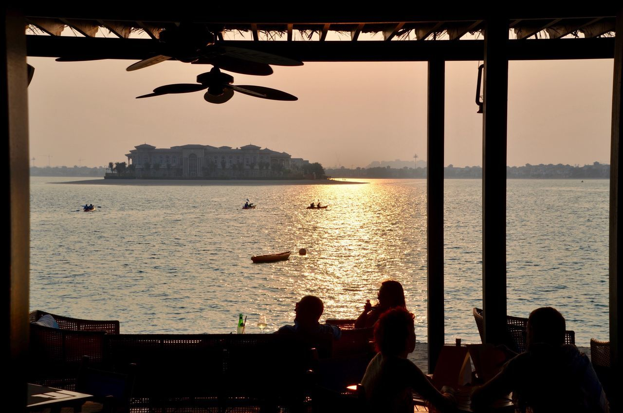 Real People Leisure Activity Lifestyles Women Sunset Sitting Outdoors Togetherness Nature Adult Beauty In Nature Sky Beach Club Anantara Adapted To The City EyeEmNewHere Happiness The Photojournalist - 2017 EyeEm Awards