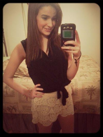 ready for tonight (: ♥