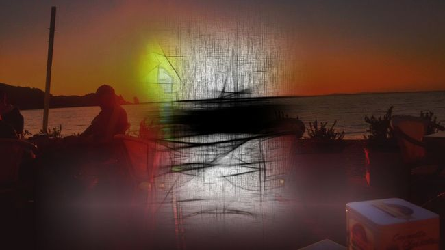 Sunset Silhouettes The Street Photographer - 2016 EyeEm Awards Freedom Of Expression Poetrycommunity Week On Eyeem The Innovator Global Photographer Works Exhibition EyeEm Market © Mix App Abstractions In Colors Art, Drawing, Creativity