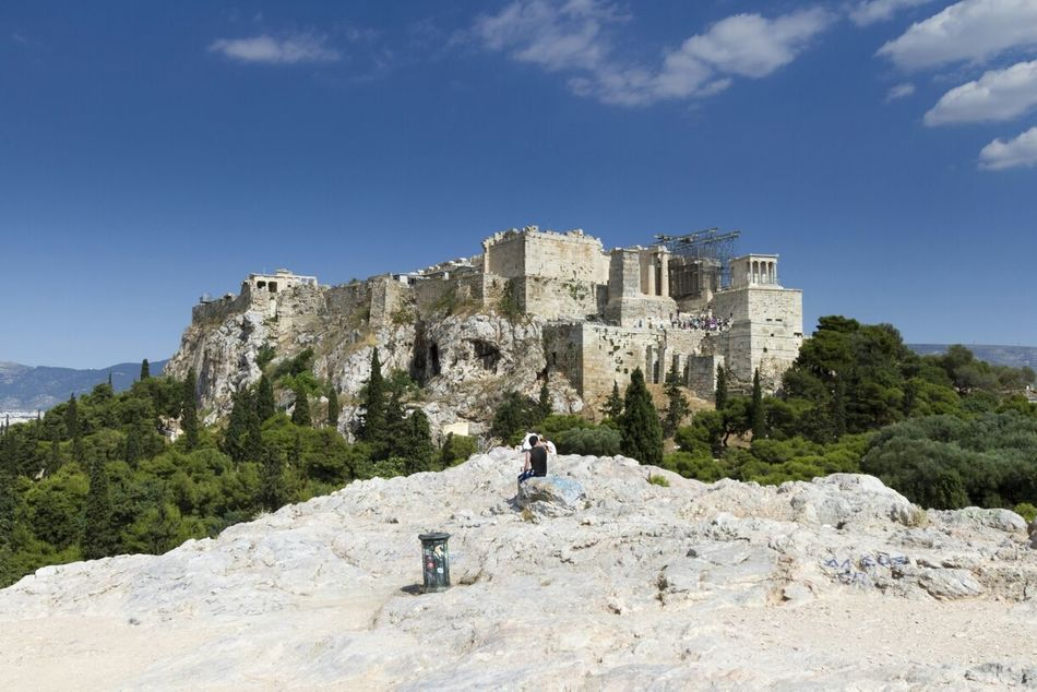 Beautiful stock photos of athens, Architecture, Athens, Blue, Built Structure