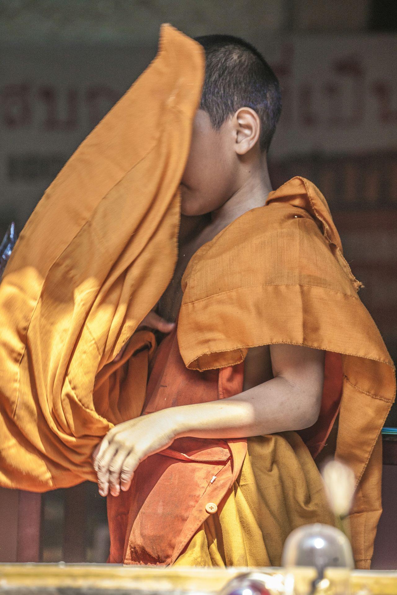 The Human Condition Thailand Amphawa  Buddhist Monk