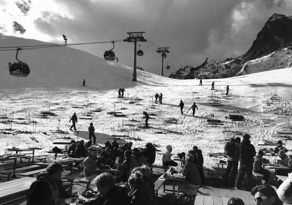 Glacier Tyrol Austria Austria Blue Cold Dramatic Sky Glacier High Altitude Mountain View Mountains Mountains And Sky Pitztaler Gletscher Skiing Snow Snow ❄ Tyrol