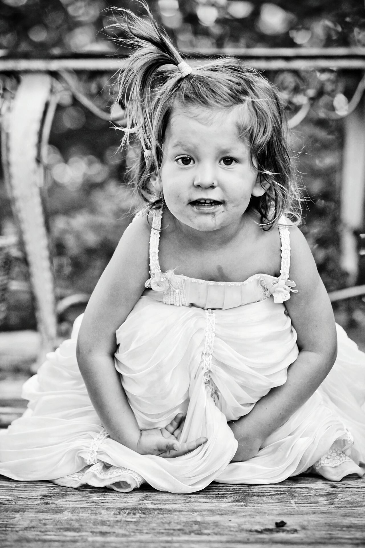 Child Childhood One Girl Only Girls Looking At Camera Children Only Portrait Innocence Black & White Black And White Blackandwhite EyeEmNewHere