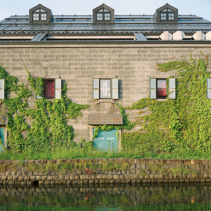 The last bits of sunlight shine upon an old warehouse building at Hokkaido's Otaru Canal. Japan Otaru Otaru Canal Overgrown Travel Architecture Authentic Building Exterior Built Structure Canal Day Golden Hour Ivy No People Outdoors Plant Sunset Symmetry Travel Destinations Vine Warehouse Water Window 小樽 日本