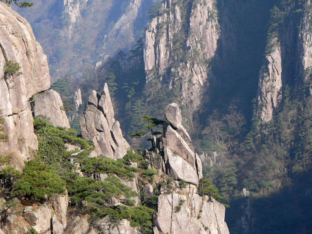 Yellow mountains, China Amazing Mountain Amazing Nature Amazing Place Amazing Rocks China Mountain Forest Mountain Mountain Forest Nature Rock Yellow Mountains