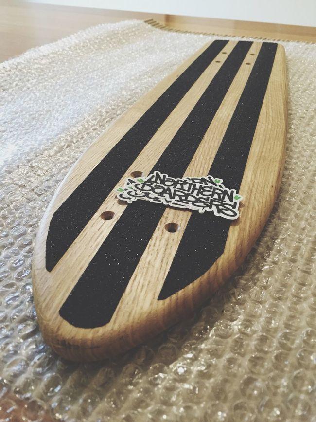 Skate Northernboarders Handmade Oak Getwood hello@northernboarders.co.uk