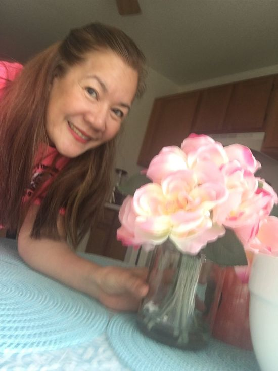 Smiling Indoors  One PersonFlowerrBeauty Of NatureeLovelyrosee