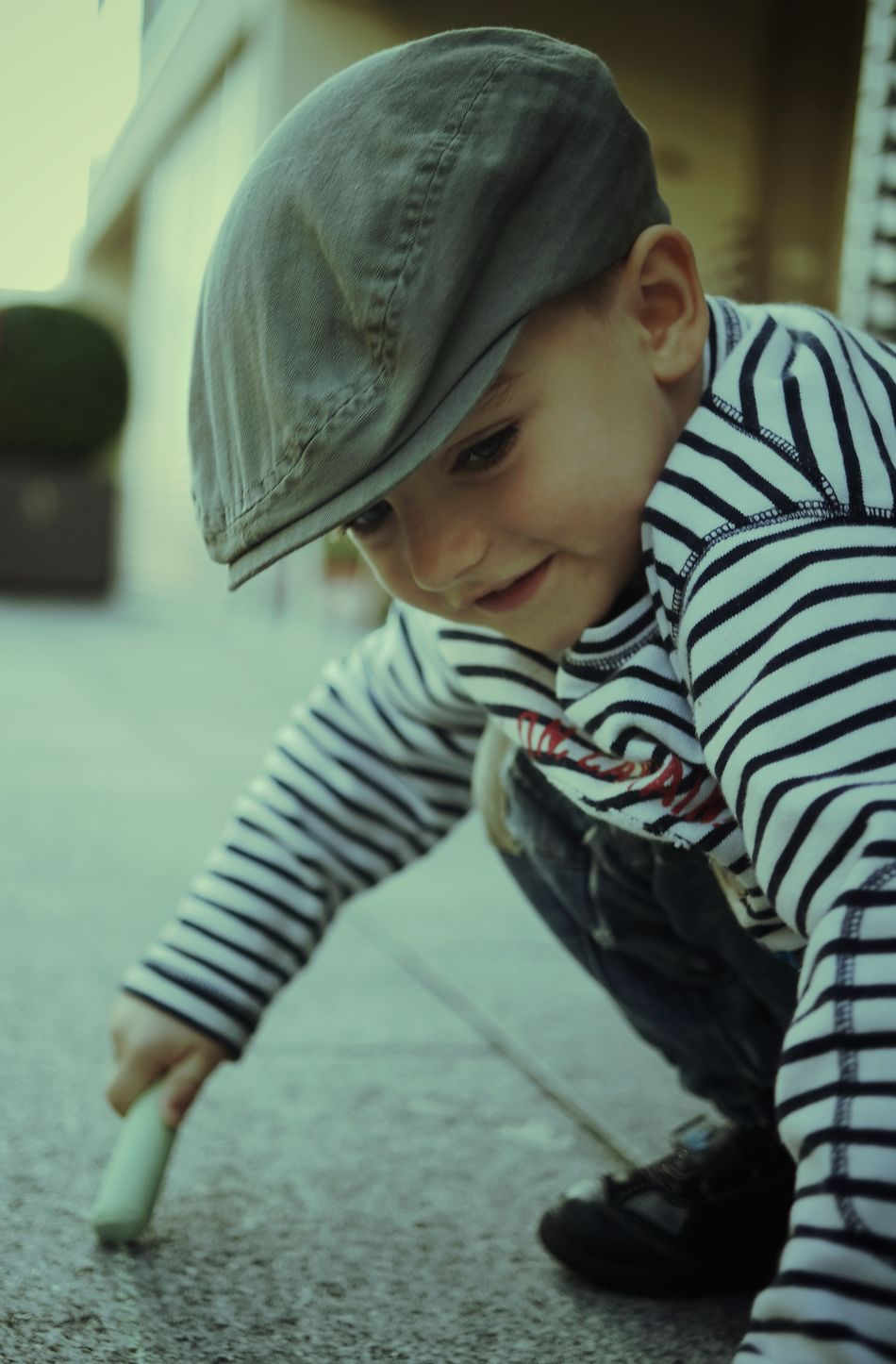 Beautiful stock photos of boy, Boys, Cap, Casual Clothing, Caucasian Ethnicity