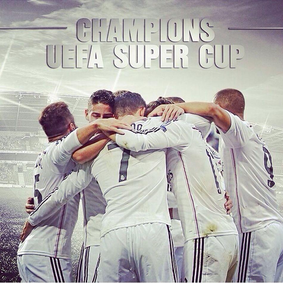 Realmadrid Champion de Supercup Hala Madrid ⚽️?⚽️❤️???