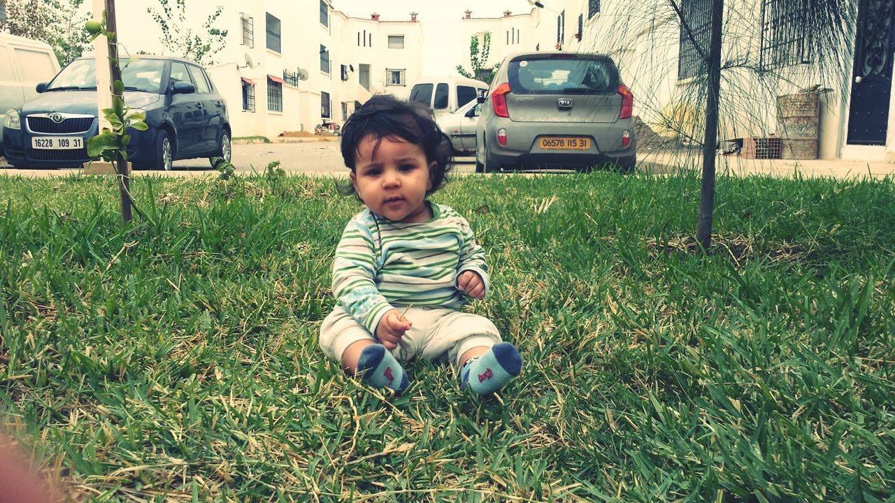 Baby Babyboy Grass Nature My Son One Boy Only Bébé ♥ Cute Baby Boy Enfant Litle Boy