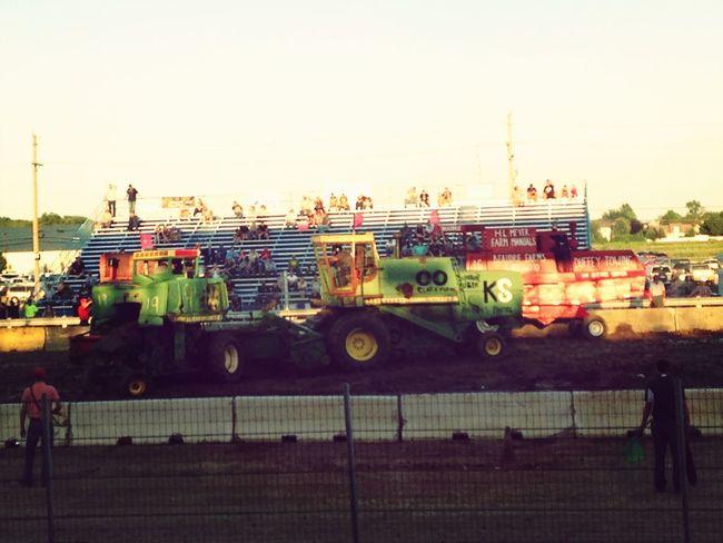 Combine derby fun!
