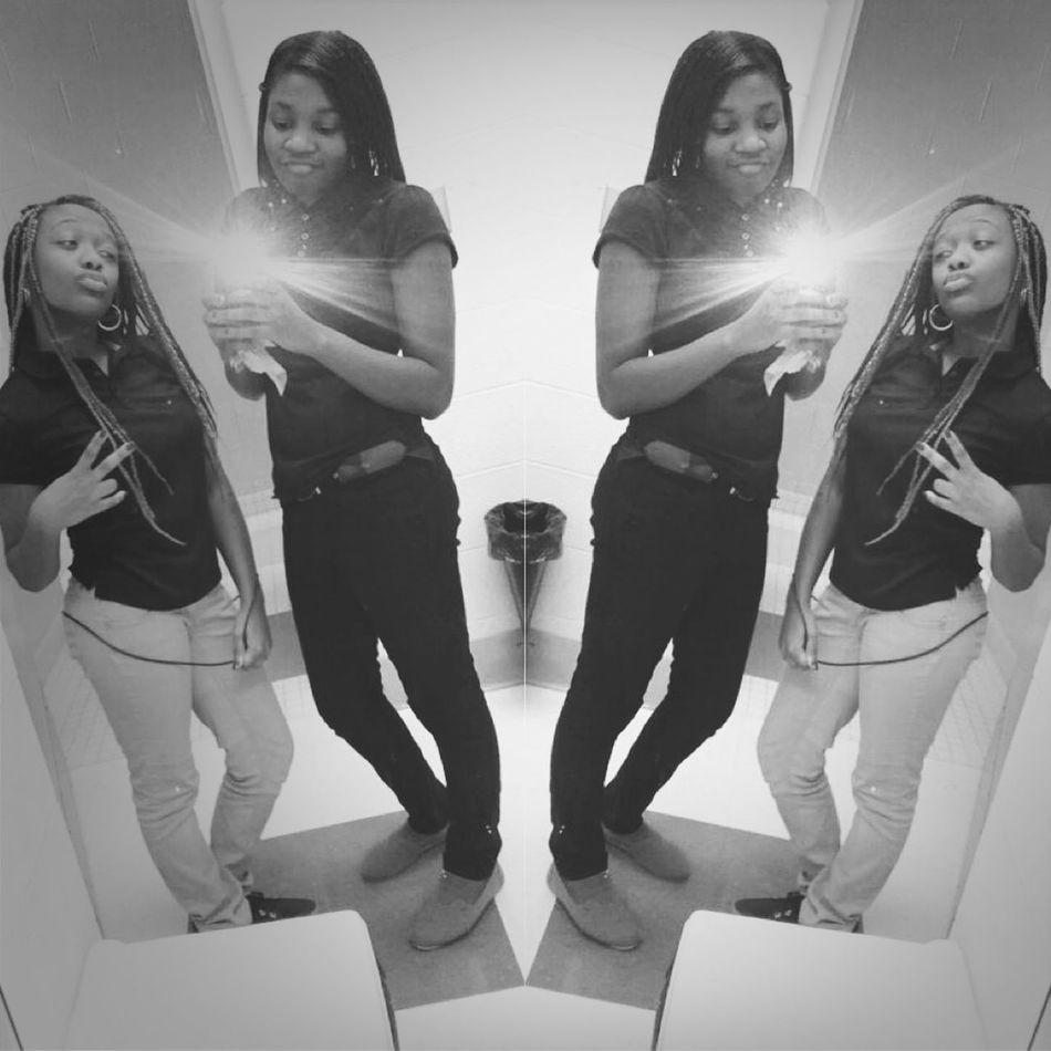 with my bestfriend.