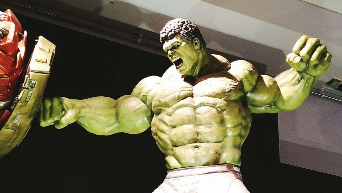 Marvel Avengers2 Taking Photos Hot Toys Hulk
