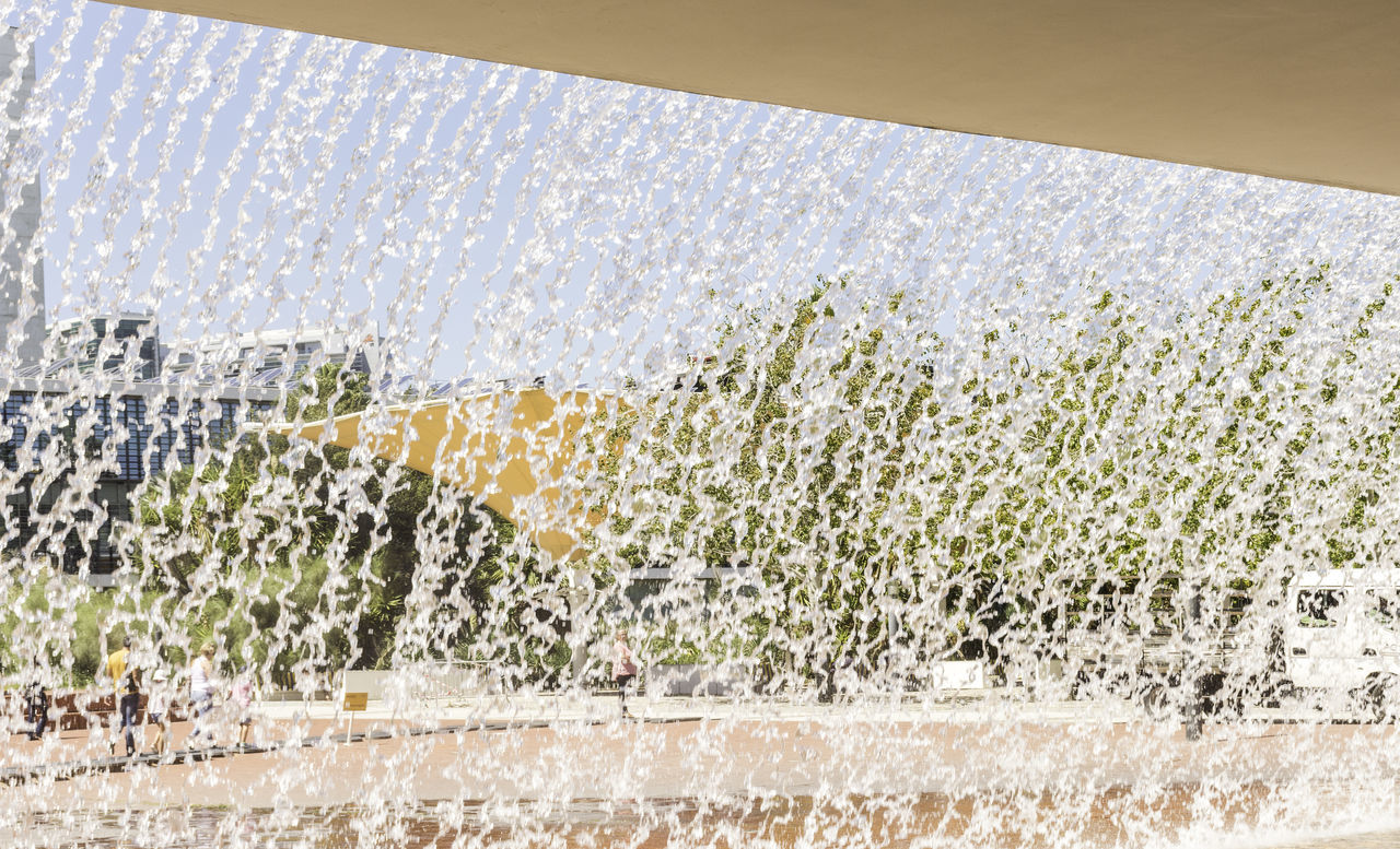 water, spraying, day, indoors, no people, motion, nature, architecture, close-up