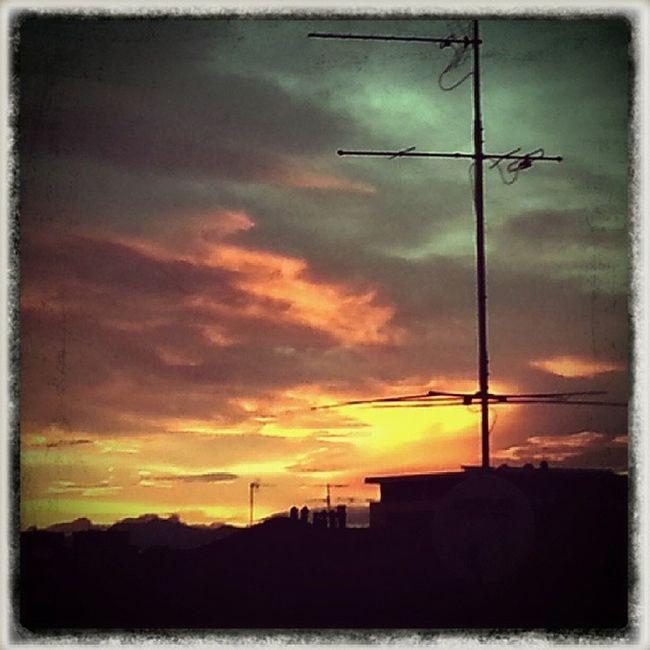Sunset in Sesto San Giovanni (Milan)