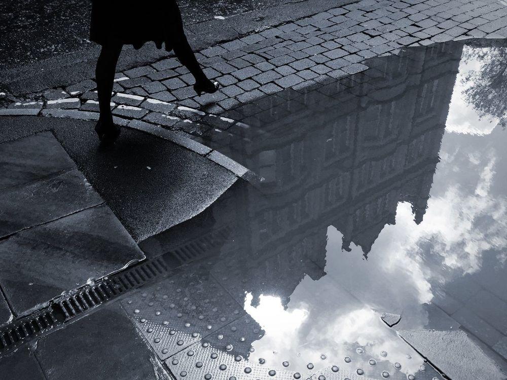 Big puddle..