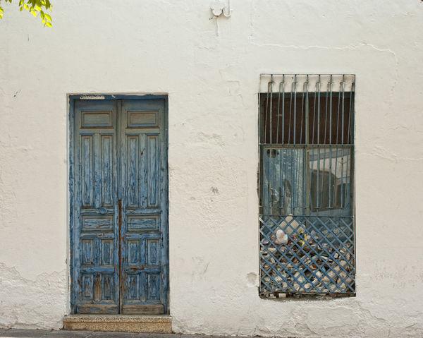Abandoned Buildings Abandoned Places Blue Conceptual Conceptual Image Conceptual Photography  Conceptualphotography Door Door And Window No People Photographer Arturo Macias Window