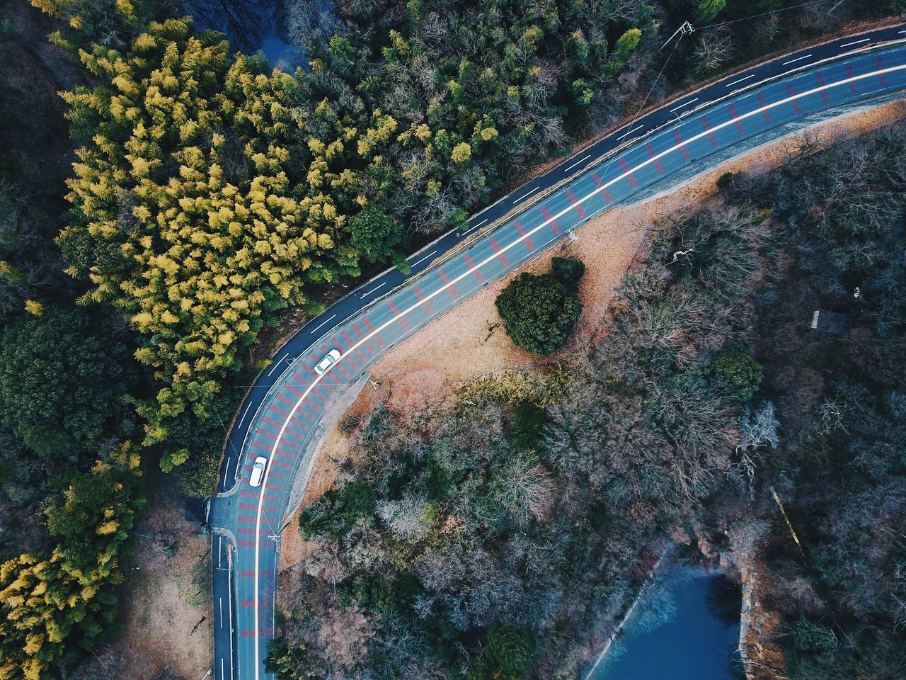 High Angle View Transportation Tree Outdoors No People Connection Nature Road Day Beauty In Nature Drone  Dronephotography Beauty In Nature Tree Nature Power In Nature Landscape Vscocam VSCO Aerial View Aerial Shot Aerial Photography Aerospace Industry Drone  Vscogood Flying High