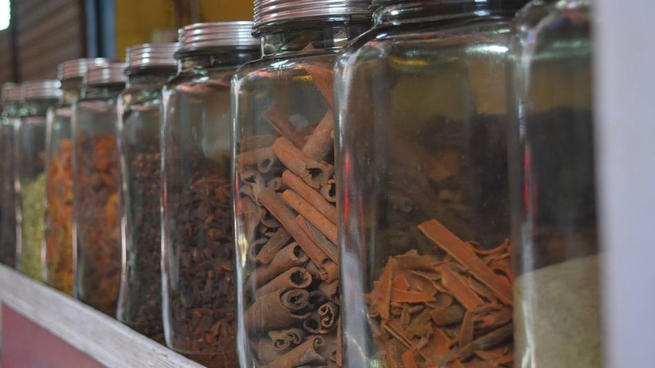 Jar Variation Freshness Indian Spices Spices Indian Street Photography Outdoors