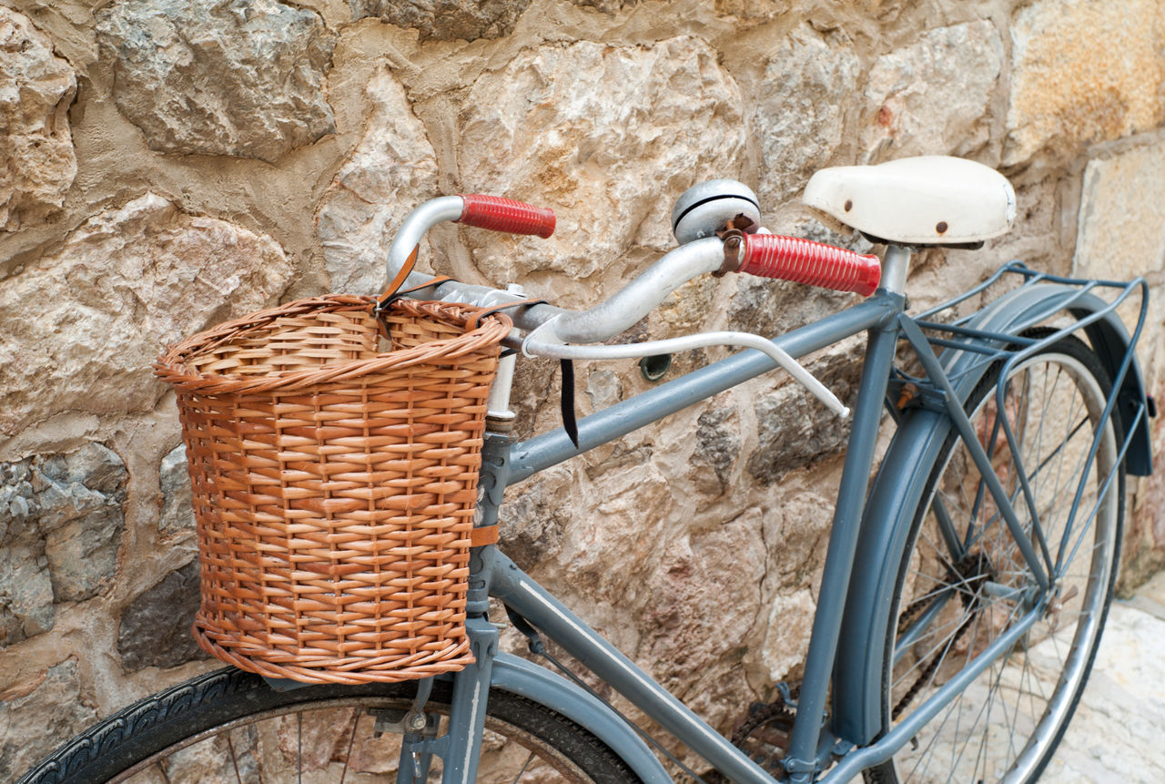 Vintage bike on streets of Valldemossa on Mallorca island Baleares Balearic Islands Bicycle Bike Majorca Majorca, Spain Mallorca Mediterranean  Mediterranean Lifestyle Retro Valldemossa Vintage