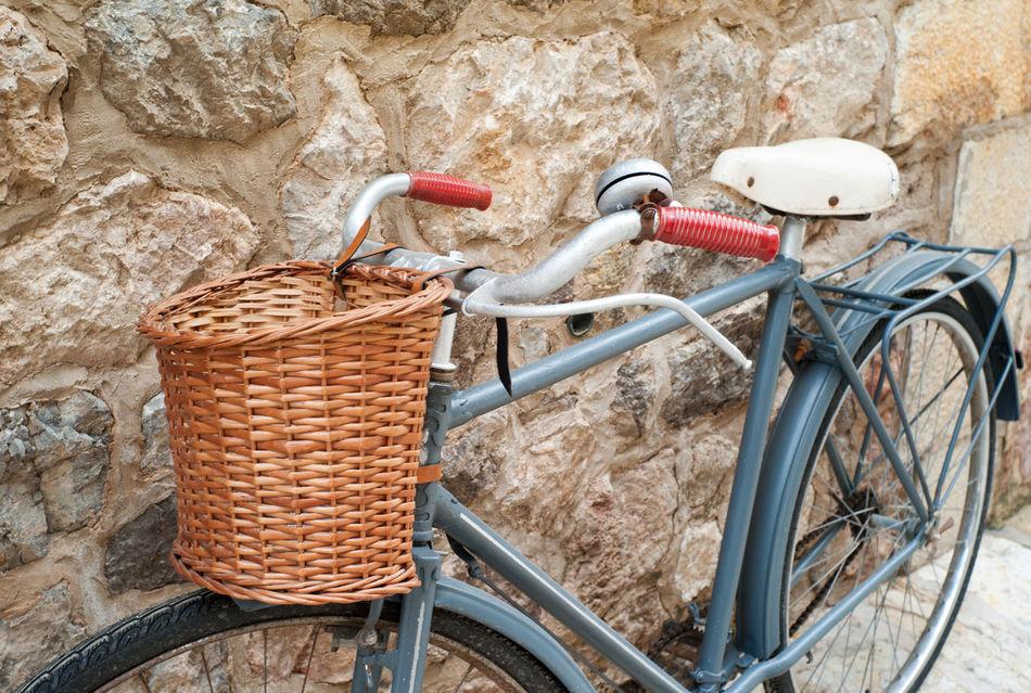 Vintage bike on streets of Valldemossa on Mallorca island Baleares Balearic Islands Bicycle Bike Majorca Majorca, Spain Mallorca Mediterranean  Mediterranean Lifestyle Retro Valldemossa Vintage