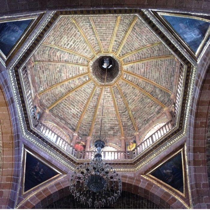 Urban Geometry Guanajuato, Mexico Church Geometric Abstraction