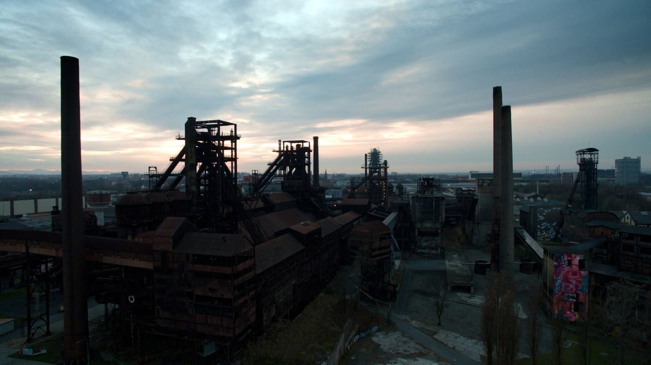 Aerial Photography Aerial Shot Aerial View Architecture Cloud - Sky Coal Mine Czech Republic Day Drone  Dronephotography Factory Industrial Equipment Industry No People Ostrava Outdoors Phantom 3 Sea Sky Sunset