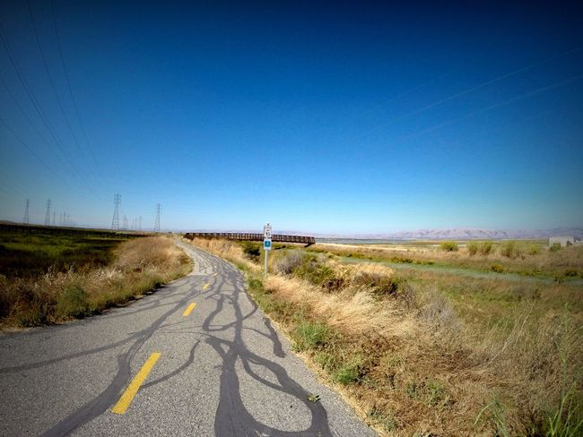 Taking Photos California Bay Area Bike Trail Open Space Blue Sky No People Home Is Where The Art Is Outdoors Whatever
