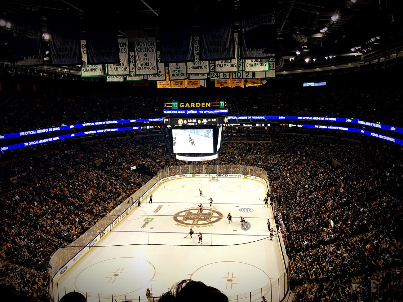 Boston Bruins BostonYoureMyHome Tdgarden Battle Of The Cities