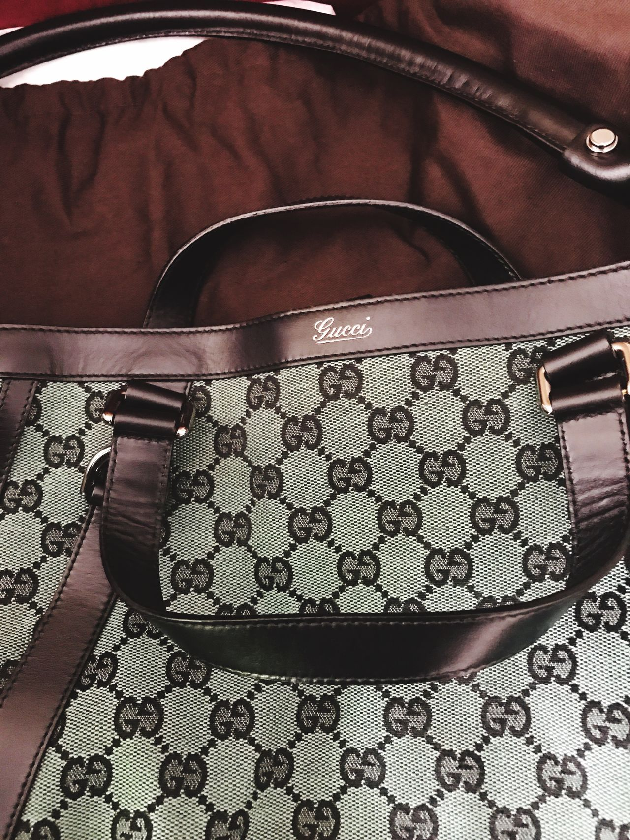 GUCCI Abbey Green Hobo.. Close-up Logo Handbag  Purse Highend Luxury EyeEmNewHere EyeEm Best Shots EyeEmNewHere
