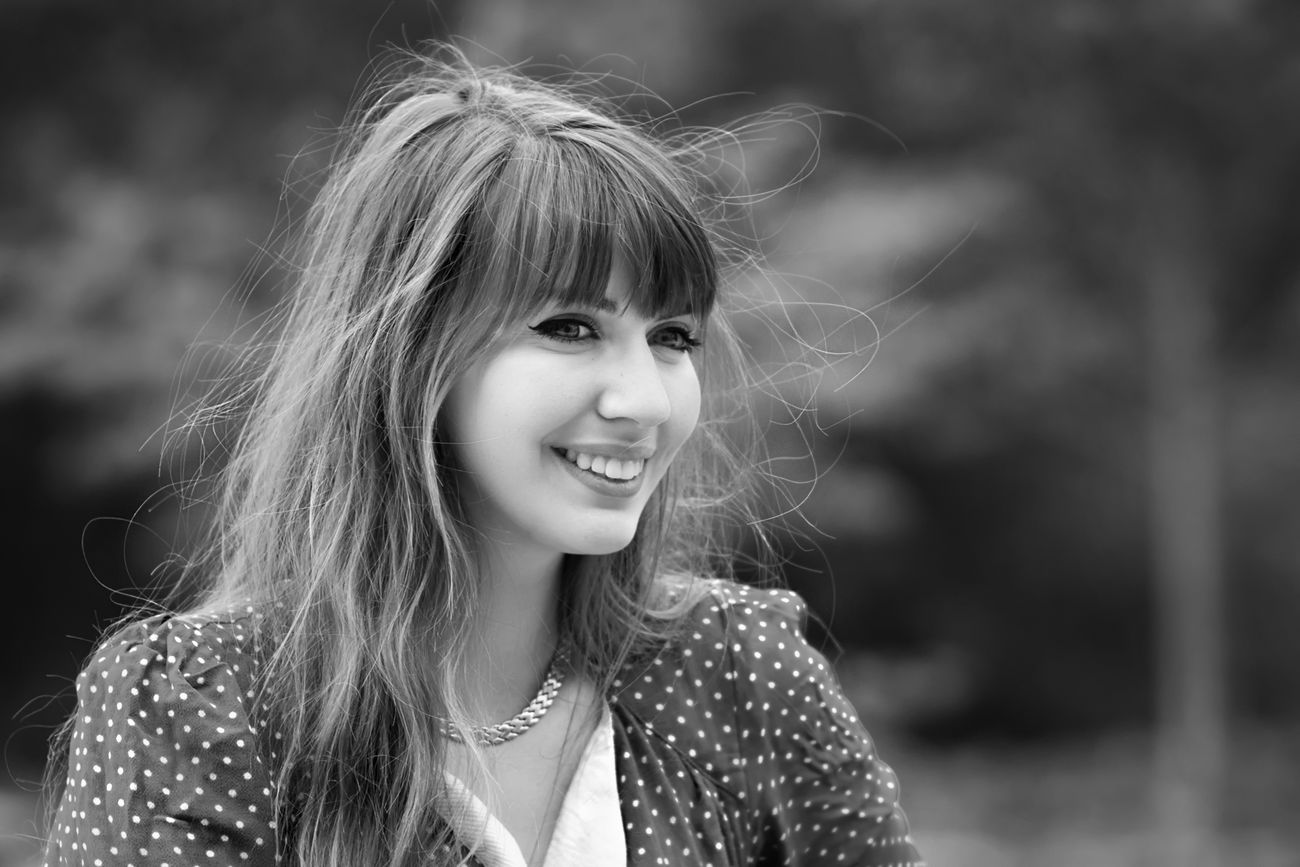 the monochrome smiling ...?.hairs in the wind Beauty Smiling Portrait Young Adult Happiness Beautiful People Young Women People Beautiful Woman Outdoors Day Fashion Model Portrait De France EyeEm Best Shots Still Life Real People Headshot Getting Creative Eye4photography  EyeEm GalleryHappiness Getting Inspired Fashion Photography Eye4photography  Monochrome
