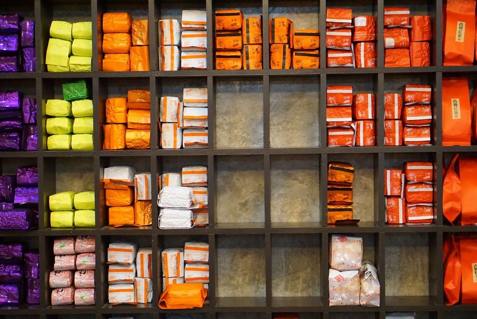 Shelf In A Row Retail  Variation Large Group Of Objects Store Full Frame Indoors  No People Choice Bookshelf Supermarket Day Chiangrai