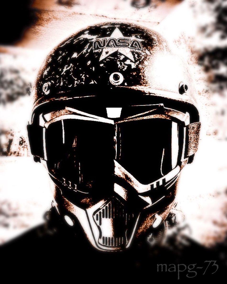 Me Self Portrait Selfie ✌ Blackandwhite EyeEm Best Shots - Black + White Helmet