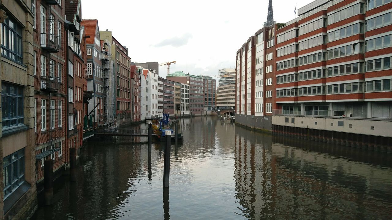 Hamburg Old Town. · Germany Hh 040 Hamburgmeineperle Hansestadt Hamburg Hanseatic Travel Destinations Canal Channel Water Building Exterior Architecture Outdoors Reflection No People Day