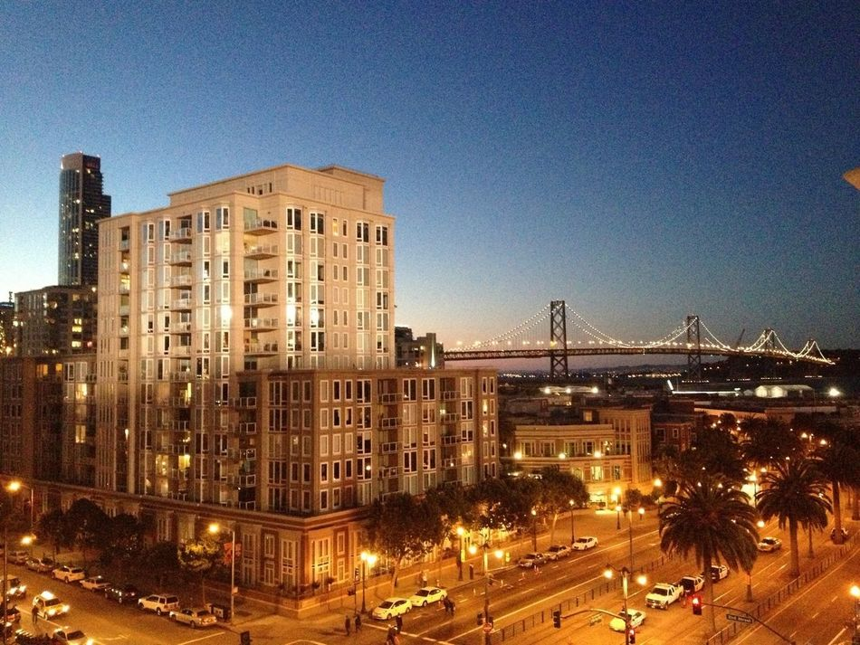 GetYourGuide Cityscapes Check This Out San Francisco Bay Bridge Night Lights
