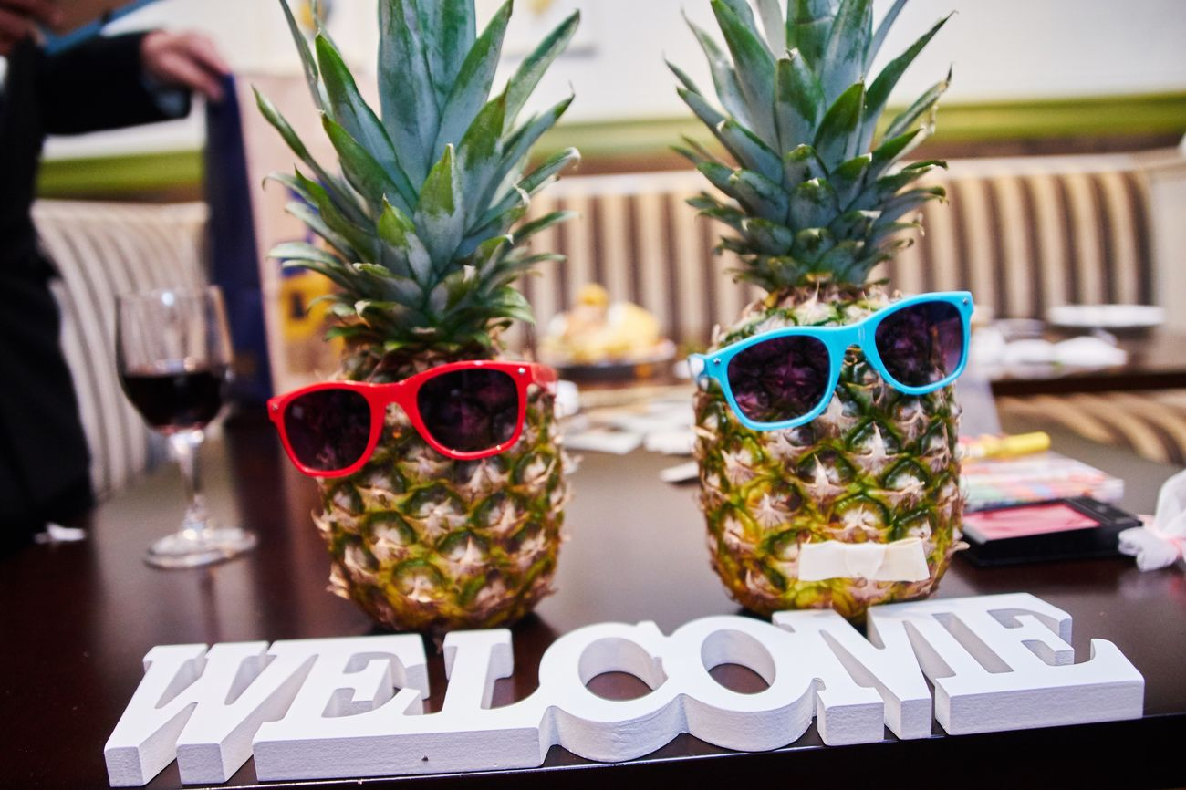 Focus On Foreground No People Indoors  Table Day Close-up EyeEm Best Shots Japan Pineapple Sunglasses Welcome Eye4photography  Fruit
