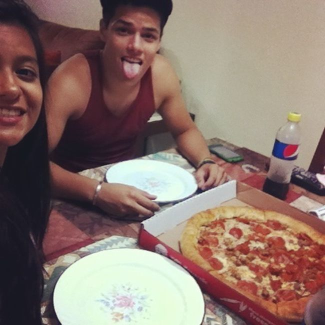PIZZA DAY ! perfect rainy friday ft my boy Perfectdaywiththisguy