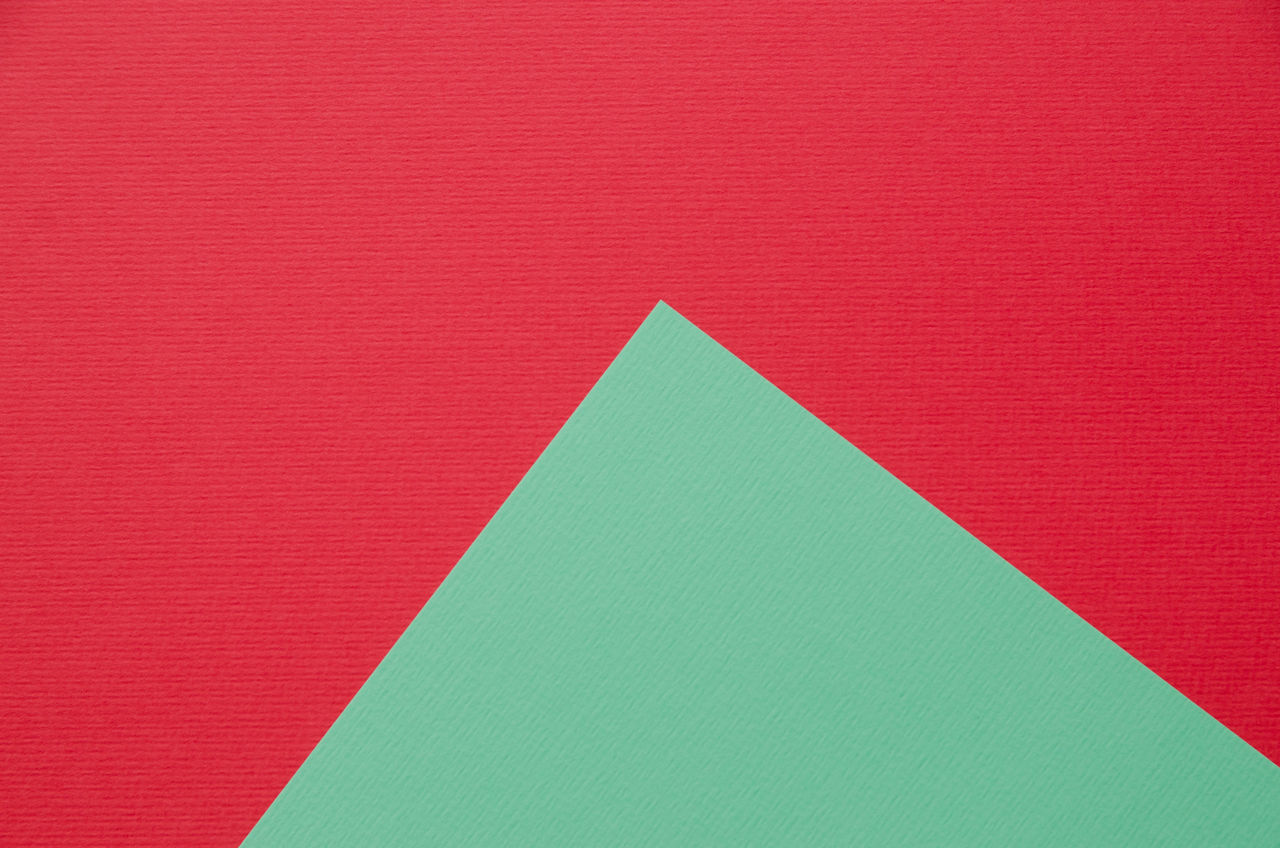 Backgrounds Close-up Color Colorful Colorfull Copy Space Full Frame Multi Colored No People Paper Papercraft Red Turquoise Colored