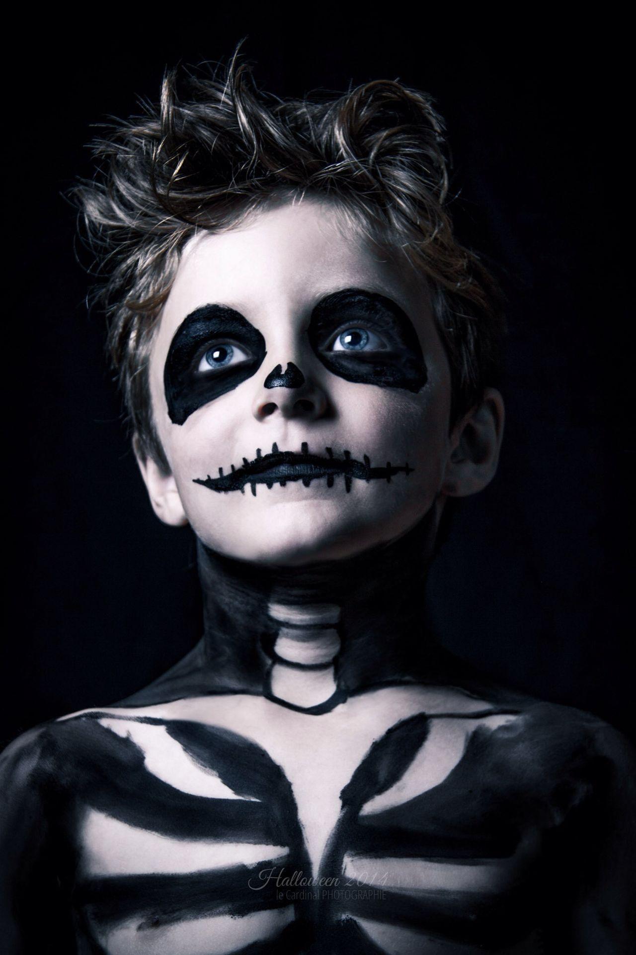 Halloween Horrors 6 years old Skeleton ready for Halloween Davidlecardinal