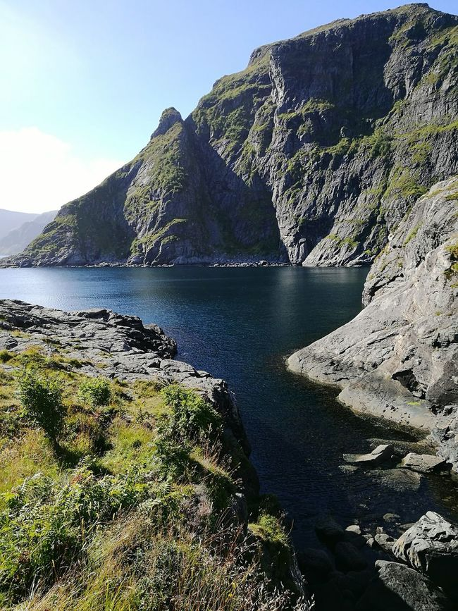 Mountain Water Just Nature Lofoten A Norway I'll Be Back