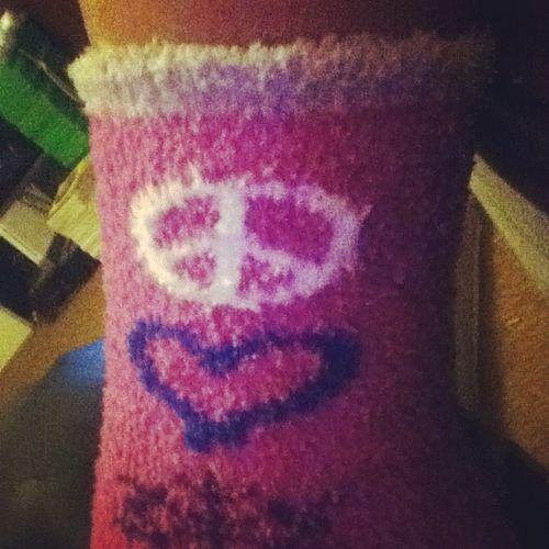 Christmas socks!! lol SpreadThePeace 