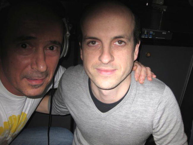 Me and Matthew Herbert Dee Jay