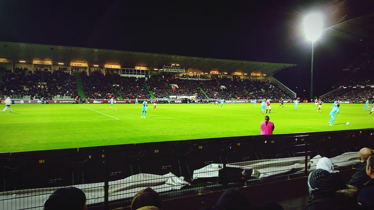 Football Fever Ligue1 Fcmetz Olympique De Marseille 1:0 Stade Saint Symphorien Home Win Love Fc Metz Free Kick Goal