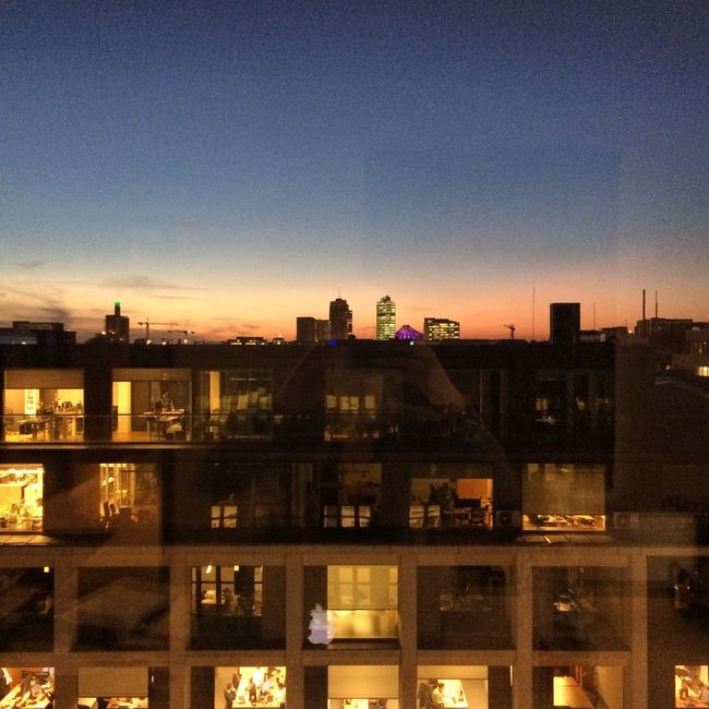 Potsdamer Platz Rooftop View  Berlin Rooftop Taking Photos Office View Berlin Mitte Sunset