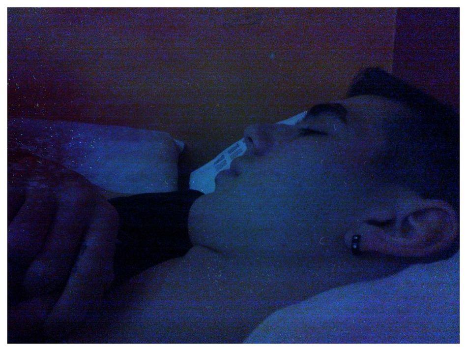 Aww Kiewee Sleeping